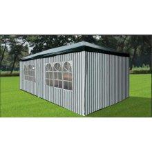Садовый шатер Афина-Мебель AFM-1015A Green-white