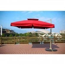 Зонт для сада Афина-Мебель AFM-250SB-Bordo (2,5x2,5)