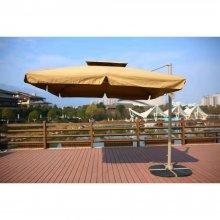 Зонт для сада Афина-Мебель AFM-250SDB-Dark Beige(2,5x2,5)