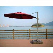 Зонт для сада Афина-Мебель AFM-300DR-Bordo