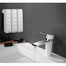 Дозатор для жидкого мыла CeramaLux F7016 Белый