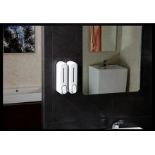 Дозатор для жидкого мыла CeramaLux F7020 Белый