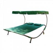 Шезлонг-кровать KVIMOL KM-080 зеленый