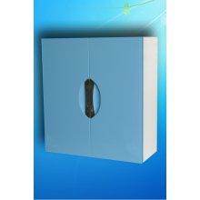 Шкаф навесной Монако Люкс 55 Голубой