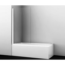 Berkel 48P01-80WHITE Стеклянная шторка на ванну