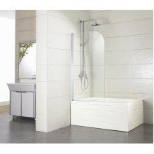 Шторка на ванну Bravat Alfa 70х135